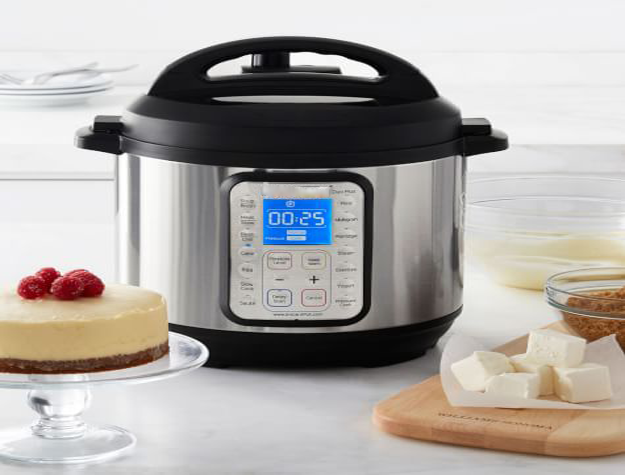 Pressure cooker for cheesecake?